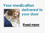 Your medication delivered to your door